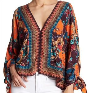 Free People | Catch Me If You Can Top Purple M